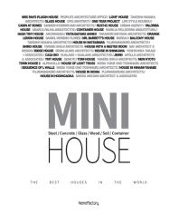 MINI House(양장본 HardCover)