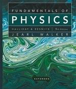 Fundamentals of Physics, Extended, 9/e, 9/E