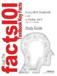 Studyguide for Exceptional Lives by Ann P. Turnbull, ISBN 9780135026960