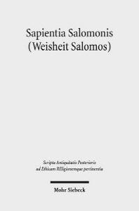 Sapientia Salomonis (Weisheit Salomos)