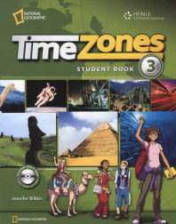Time Zones Level. 3 : Student Book (Multi-Rom 포함)