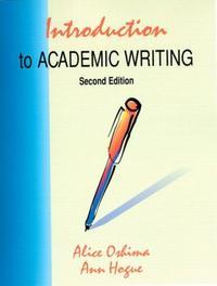 Introduction to Academic Writing 2/E 본문 공부흔적 있음(12~43p) / 주로 연필 / 볼펜영작(45p)