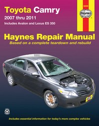 Haynes Toyota Camry and Lexus ES 350 Automotive Repair Manual
