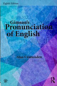 Gimson's Pronunciation of English, Eighth Edition