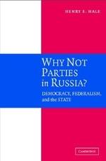 [해외]Why Not Parties in Russia? (Hardcover)
