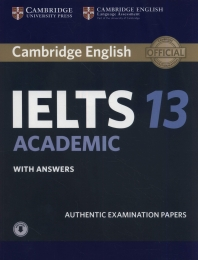 Cambridge IELTS 13 Academic with Answers with Audio (오디오포함)