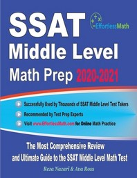 [해외]SSAT Middle Level Math Prep 2020-2021