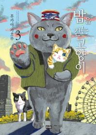 밤을 걷는 고양이. 3
