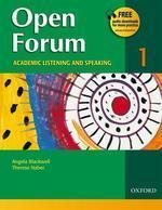 OPEN FORUM. 1(ACADEMIC LISTENING AND SPEAKING)
