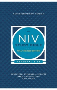 [해외]NIV Study Bible, Fully Revised Edition, Personal Size, Paperback, Red Letter, Comfort Print