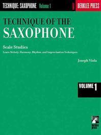 [해외]Technique of the Saxophone - Volume 1