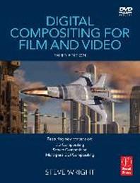 [해외]Digital Compositing for Film and Video [With DVD ROM] (Hardcover)
