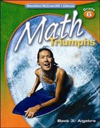 MATH TRIUMPHS GRADE. 6(BOOK 3)