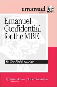 Emanuel Confidential for the MBE