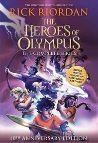 [해외]The Heroes of Olympus Set [With Poster] (Boxed Set)