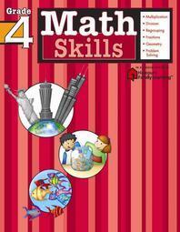 [해외]Math Skills, Grade 4 (Paperback)