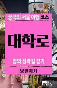 궁극의 서울 여행 코스 대학로 : 밤의 성곽길 걷기