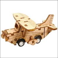달려라 경비행기(완구/교구)(움직이는 나무만들기 시리즈 861-10)