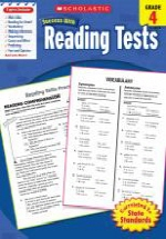 Scholastic Success With Reading Tests, Grade 4