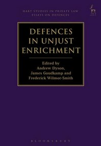 [해외]Defences in Unjust Enrichment (Paperback)