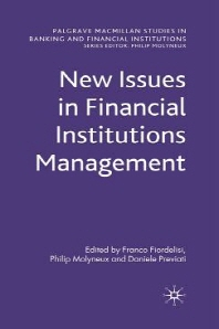 New Issues in Financial Institutions Management