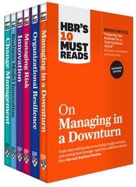[해외]Hbr's 10 Must Reads for the Recession Collection (6 Books) (Paperback)