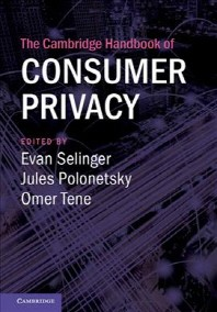 [해외]The Cambridge Handbook of Consumer Privacy