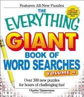 [해외]The Everything Giant Book of Word Searches, Volume 4 (Paperback)