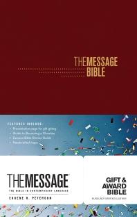 [해외]The Message Gift and Award Bible (Paperback)