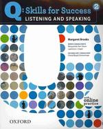 LISTENING AND SPEAKING. 2(Q SKILLS FOR SUCCESS