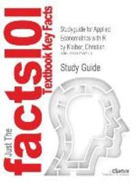 Studyguide for Applied Econometrics with R by Kleiber, Christian, ISBN 9780387773162