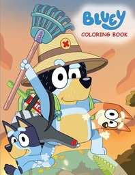 [해외]Bluey Coloring Book