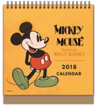 디즈니 미키 마우스 탁상달력(2018)(한정판 캘린더)