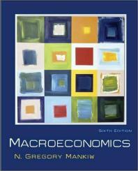 Macroeconomics 6/E