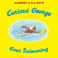 [해외]Curious George Goes Swimming (Hardcover)