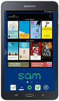 SERI&U X 삼성 갤럭시탭A 교보문고 에디션 블랙
