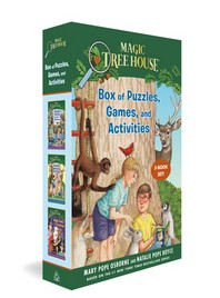 [해외]Magic Tree House Box of Puzzles, Games, and Activities (3 Book Set)