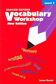 Vocabulary Workshop Level F (New Edition)
