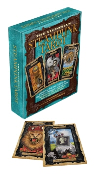 The Victorian Steampunk Tarot [With 78 Tarot Cards]