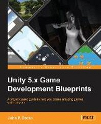 [해외]Unity 5.X Game Development Blueprints (Paperback)