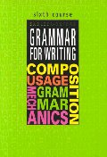 Grammar for Writing Sixth Corse