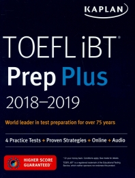 TOEFL IBT PREP PLUS 2018-2019(SET)