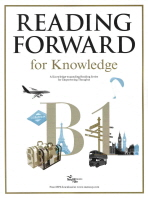 READING FORWARD FOR KNOWLEDGE B1(2011)