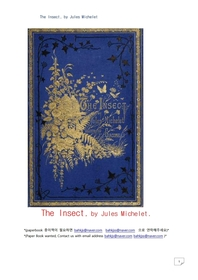 곤충.The Insect, by Jules Michelet