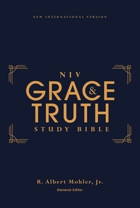 [해외]Niv, the Grace and Truth Study Bible, Hardcover, Red Letter, Comfort Print (Hardcover)