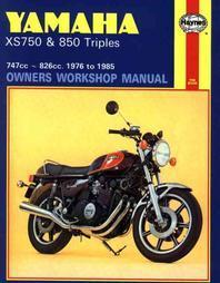 Haynes Yamaha XX750 & 850 Triples Owners Workshop Manual