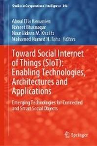 [해외]Toward Social Internet of Things (Siot) (Hardcover)