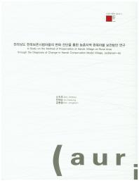 전라남도 한옥보존시범마을의 변화 진단을 통한 농촌지역 한옥마을 보전방안 연구(AURI-한옥 2016-1)
