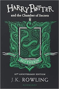 Harry Potter and the Chamber of Secrets Book 2 - Slytherin Edition (영국판)