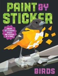 Paint by Sticker: Birds (스티커 아트북 - 새)